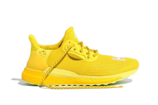 Pharrell adidas Solar Hu Glide Bright Yellow ef2379