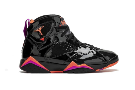 Air Jordan 7 Black Patent Leather 313358-006