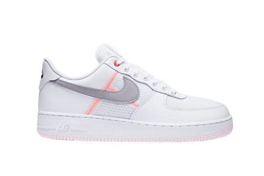 Nike Air Force 1 07 LV8 White Crimson ci0060-101