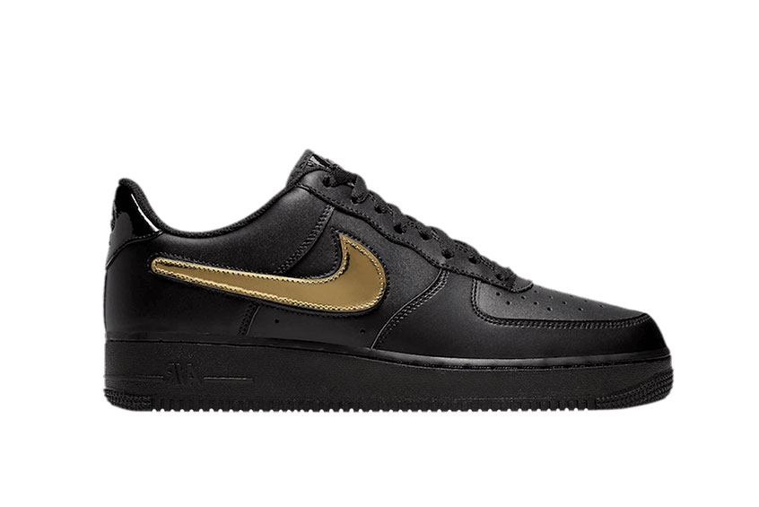 Nike Air Force 1 Low Removable Swoosh Black : Release date