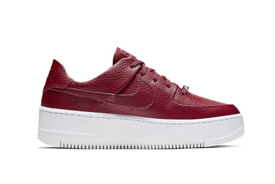 Nike Air Force 1 Sage Low Red White ar5339-602