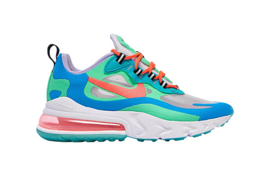 Nike Air Max 270 React Blue Lagoon at6174-300