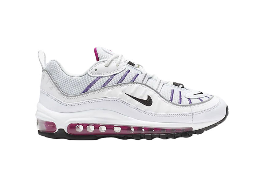 Nike Air Max 98 Grey White : Release date, Price & Info