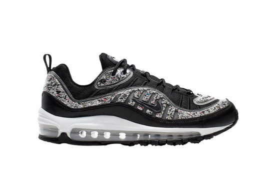 Nike Air Max 98 LX Black White Bead av4417-001