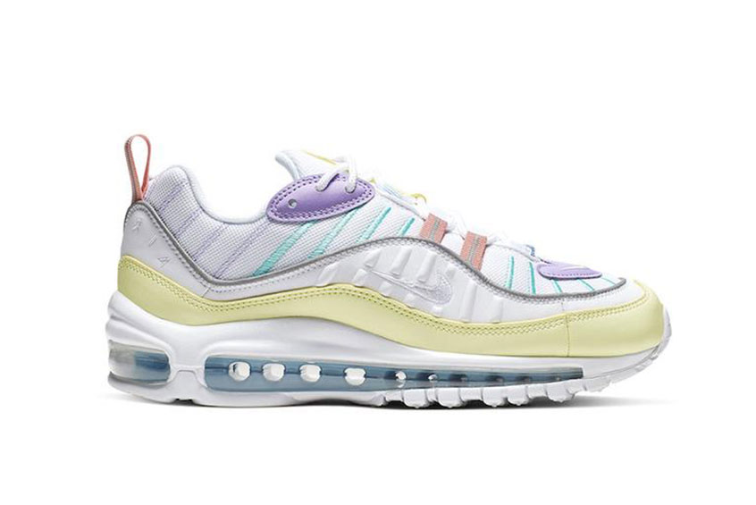 Nike Air Max 98 Pastel Yellow Lilac : Release date, Preis & Infos
