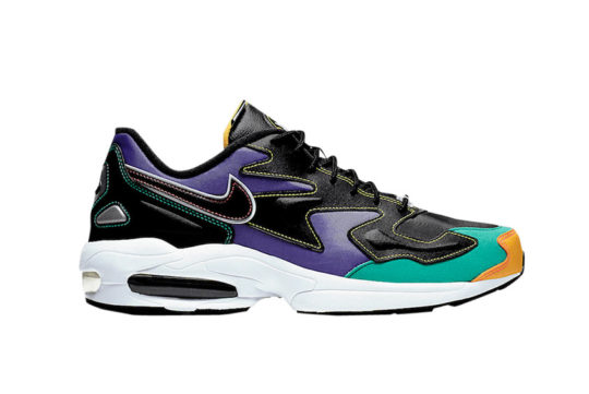Nike Air Max2 Light Premium Black Purple bv0987-023