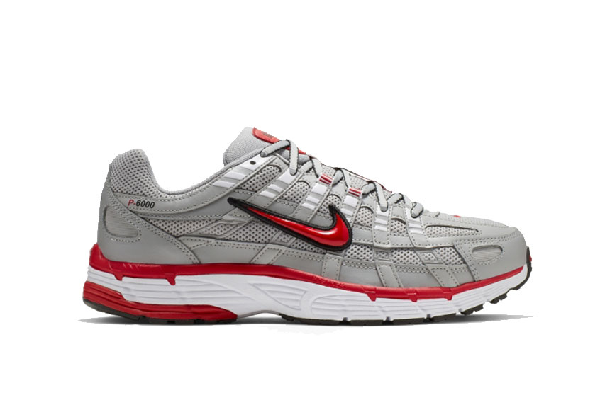 Nike P-6000 Silver Red cd6404-001