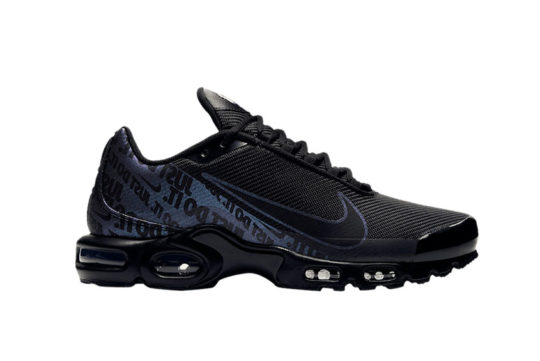 Nike TN Air Max Plus Just Do It Black cj9697-001