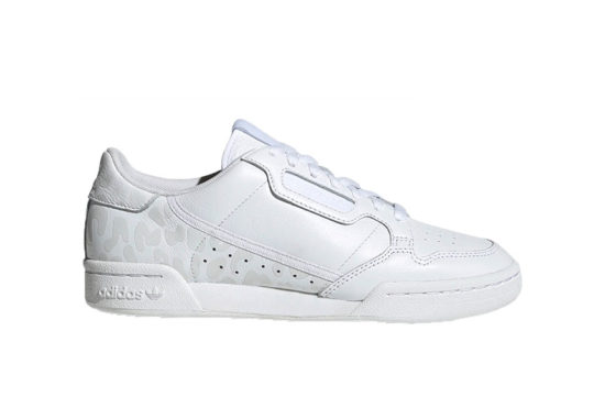 adidas Continental 80 White Leopard Print eh2621