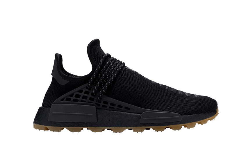 Pharrell adidas NMD Hu Trail Core Black eg7836