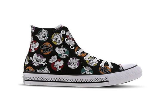 Converse Chuck Taylor All-Star Hi Tom and Jerry Black 165733c