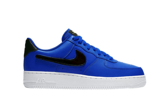 Nike Air Force 1 Swappable Swoosh Blue ci0064-400
