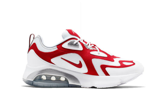 Nike Air Max 200 White Red aq2568-100