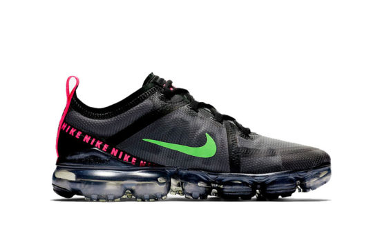 Nike Air VaporMax 2019 Black Pink Green cq4610-001