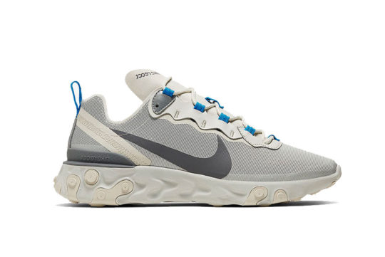 Nike React Element 55 Light Bone Grey cq4809-002