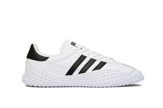Country x adidas Kamanda White Black ee5668