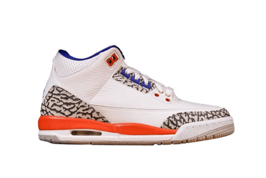 Jordan 3 Knicks GS Orange Blue 398614-148