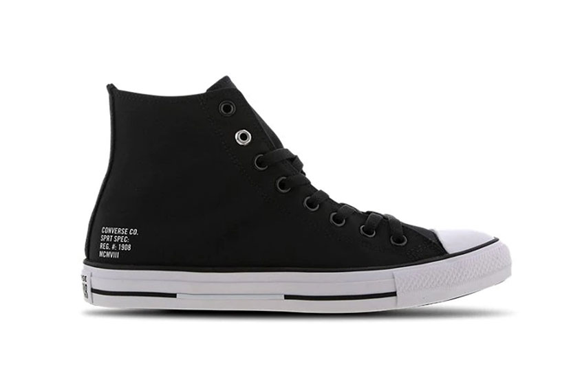 Converse Chuck Taylor All Star High Black 166546c