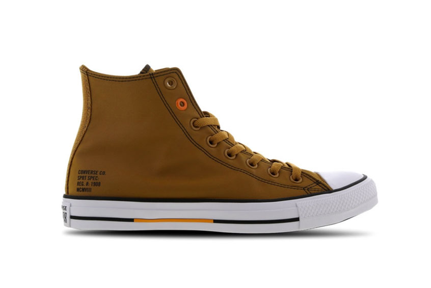 Converse Chuck Taylor All Star High Orange 166547c