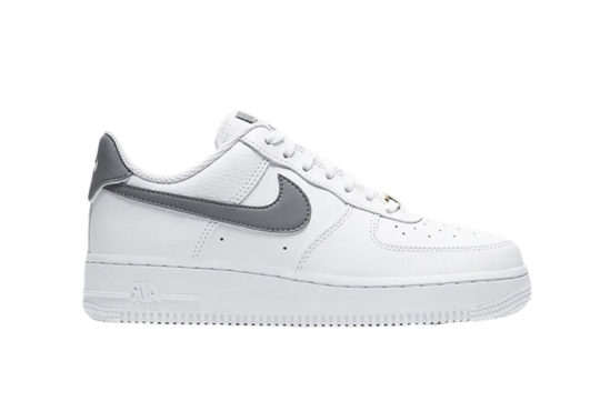 Nike Air Force 1 07 Patent White Grey ah0287-111
