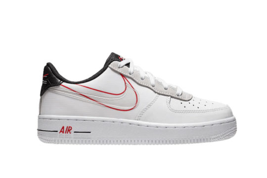 Nike Air Force 1 Low GS Script Swoosh Pack ck9707 100