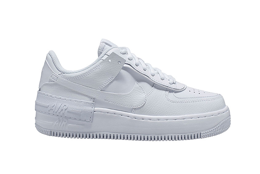 Nike Air Force 1 Low Shadow White : Release date, Price & Info