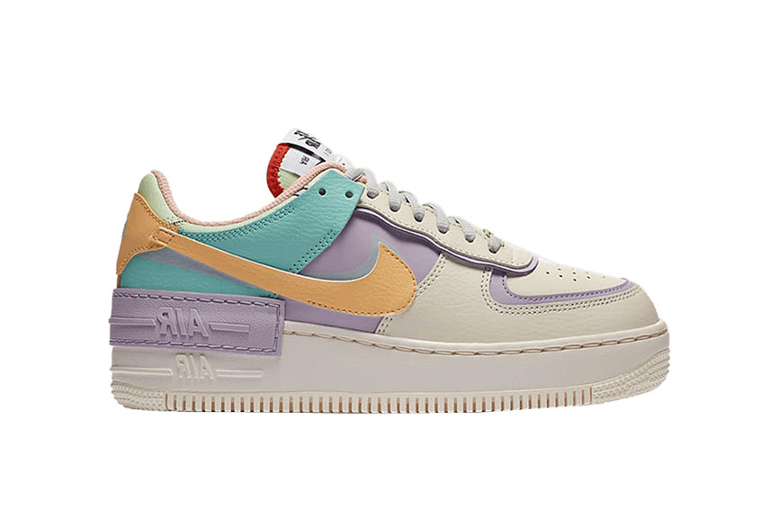 Nike Womens Air Force 1 Shadow Multi : Release date, Price & Info
