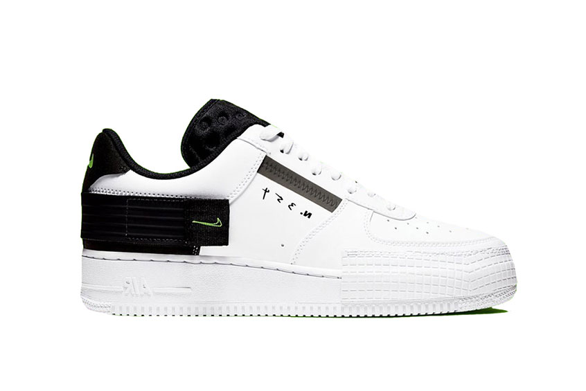 Nike Air Force 1 Low Type White : Release date, Price & Info