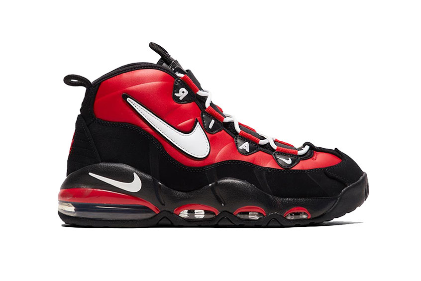 Nike Air Max Uptempo 96 Red White Black ck3480-700