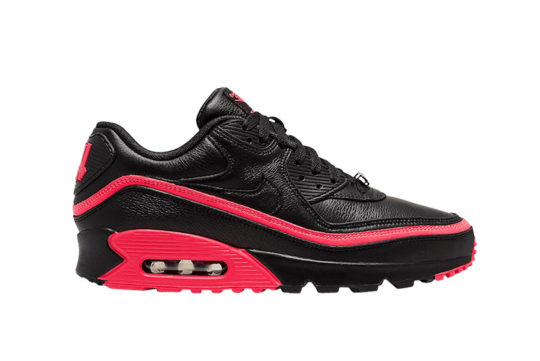 UNDEFEATED x Nike Air Max 90 Black Red cj7197-003