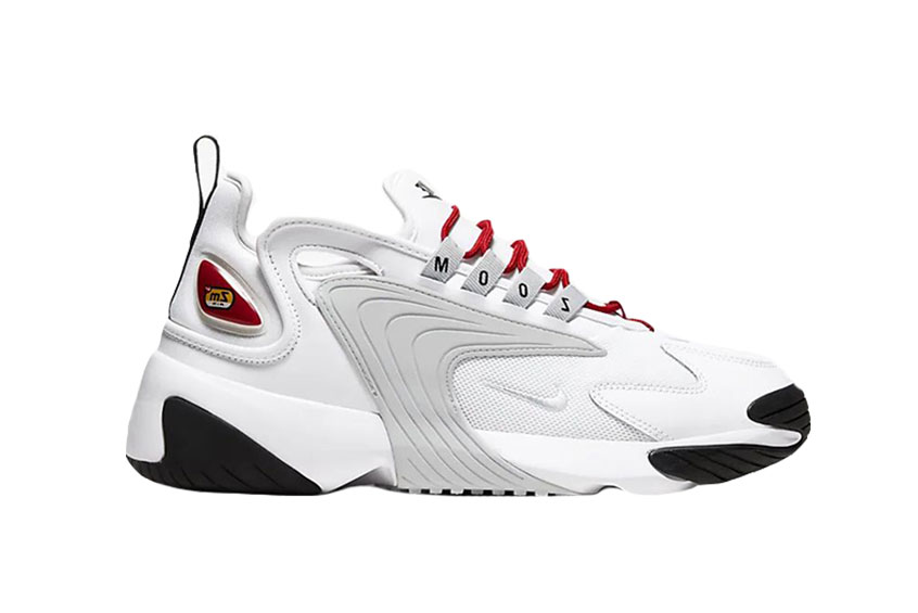 Nike Zoom 2K White Red : Release date