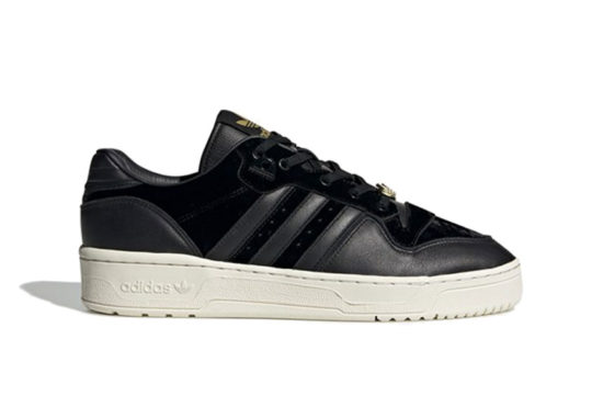 adidas Rivalry Low Black White eh0181
