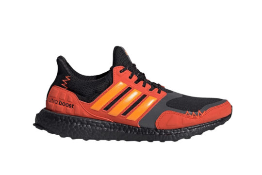 adidas Ultra Boost S&L Black Orange fv7283