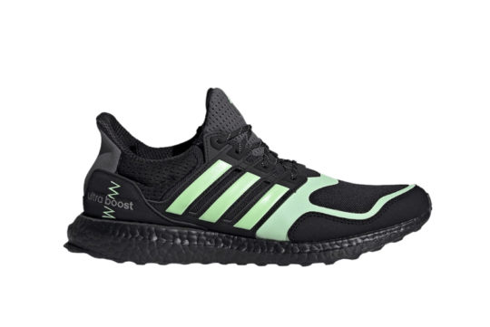 adidas UltraBoost S&L Black Green fv7284