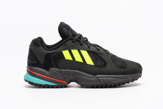adidas Yung 1 Trail Black Solar Yellow ee5321