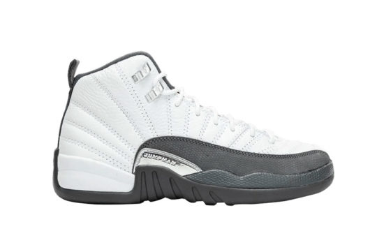 Air Jordan 12 White Grey 130690-160