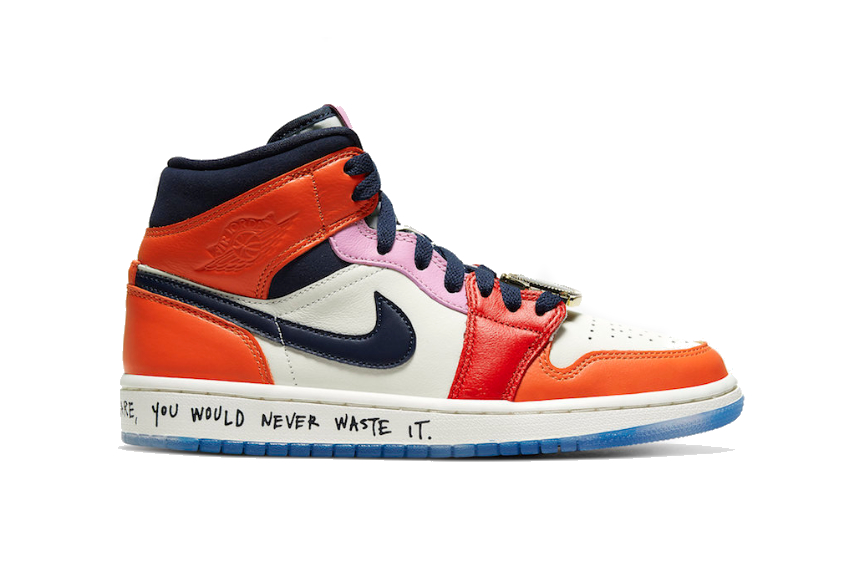 Melody Ehsani x Air Jordan 1 Mid SE Fearless : Release date, Price ...