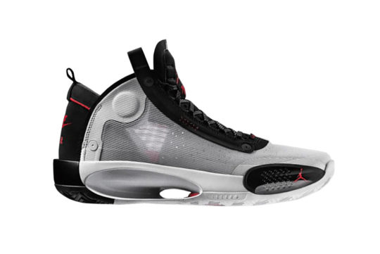 Air Jordan XXXIV – White Black Red ar3240-100