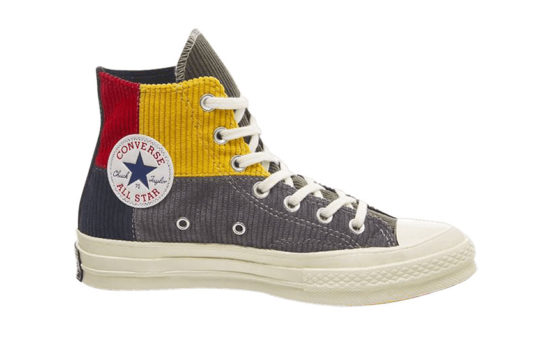 Corduroy x Converse All Star Hi 70s Gold Grey Navy 1662496091