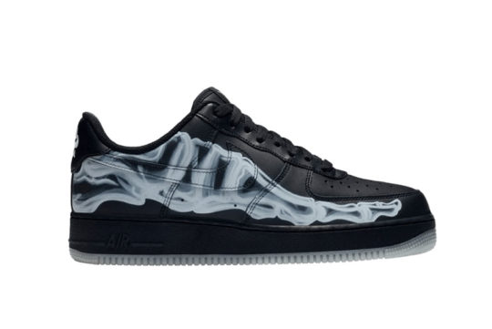 Nike Air Force 1 Black Skeleton bq7541-001