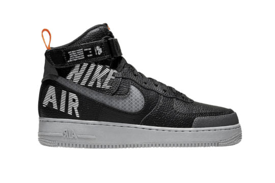 Nike Air Force 1 High Black Grey cq0449-001