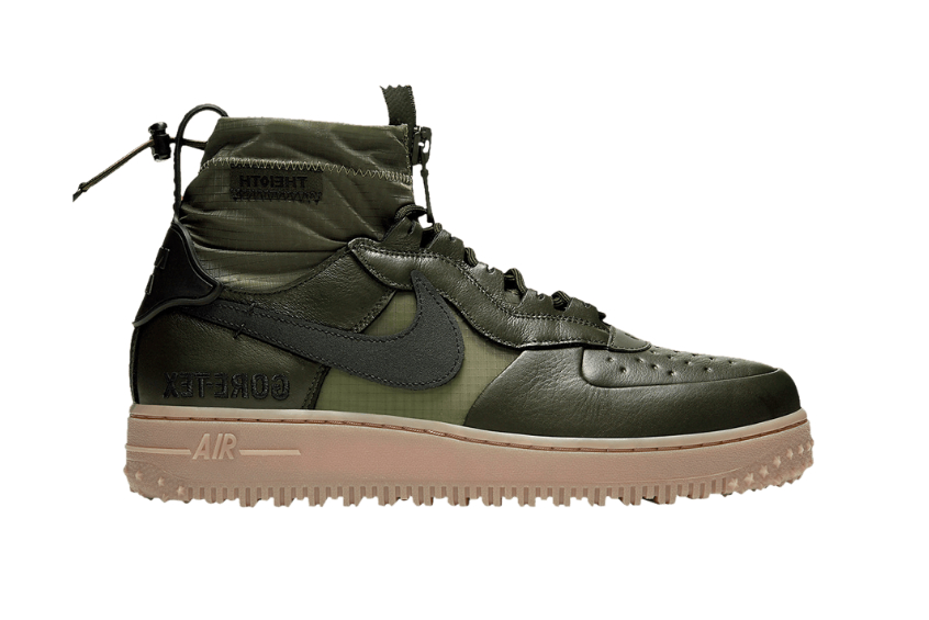 Gore Tex Nike Air Force 1 High Olive : Release date, Price & Info