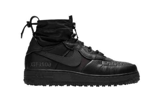 Nike Air Force 1 High Gore-Tex Triple Black cq7211-003