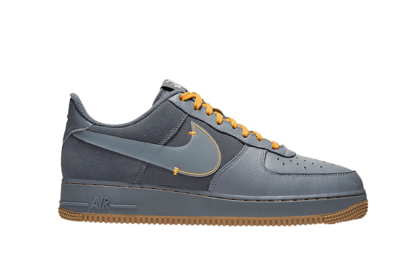 Nike Air Force 1 Low Cool Grey Yellow cq6367-001