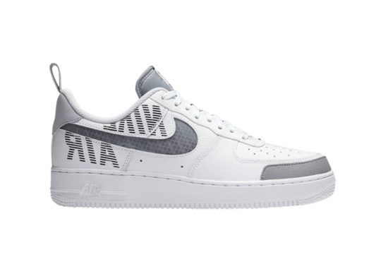 Nike Air Force 1 Low Under Construction White Grey bq4421-100