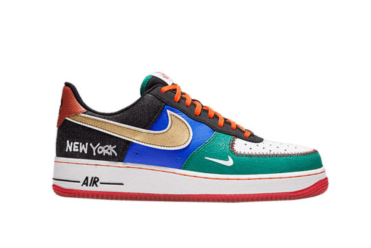 Nike Air Force 1 Low « What The NYC » ct3610-100