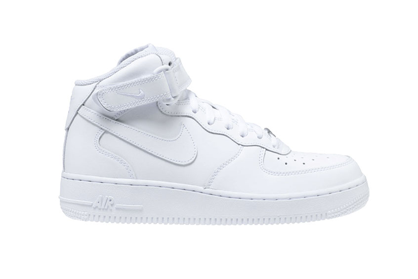 Air Force 1 Mid WhiteWhite