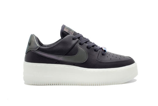 Nike Air Force 1 Sage Low LX Black White ar5409-004