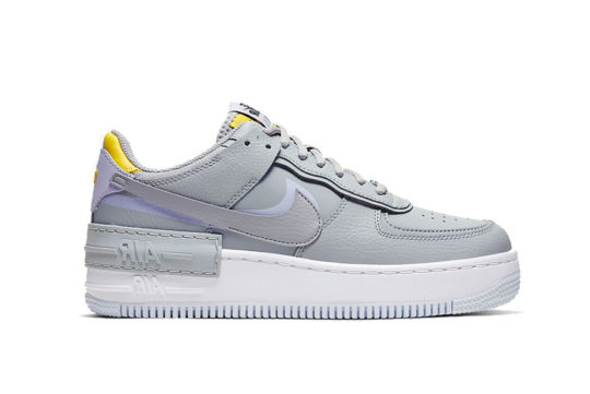 Nike Air Force 1 Shadow Grey Yellow ci0919-002