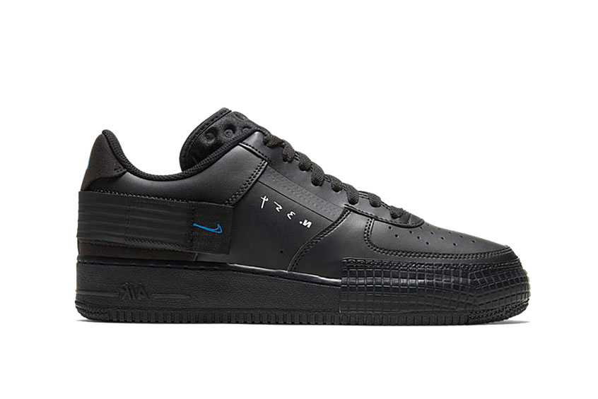 Nike Air Force 1 Low Type All Black : Release date, Price & Info